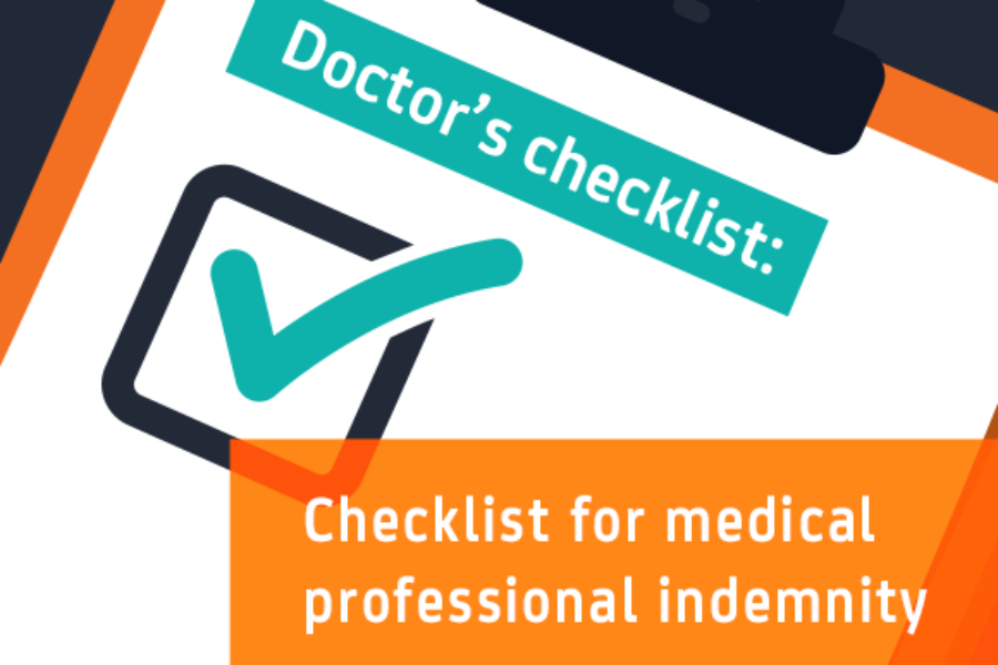 Need medical professional indemnity cover?