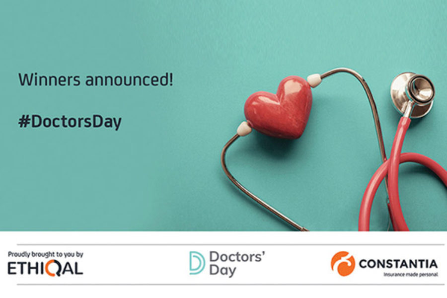 DOCTORS' DAY COMPETITION WINNERS ANNOUNCED