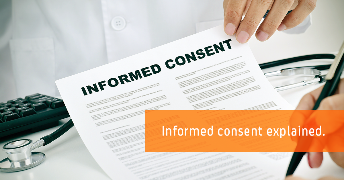 Informed consent explained